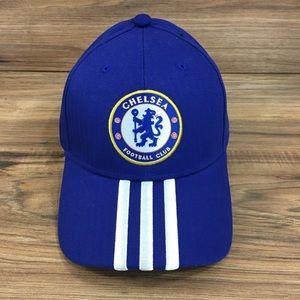 Adidas Chelsea FC Soccer Football Adjustable Hat